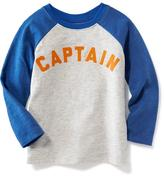 Old Navy Graphic Raglan-Sleeve Tee for Toddler