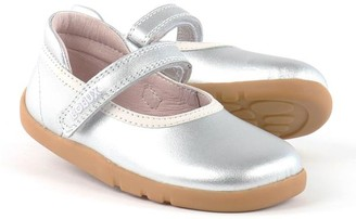 Bobux I Walk Silver Twirl Ballet - 23 (EU) - 6 (UK)