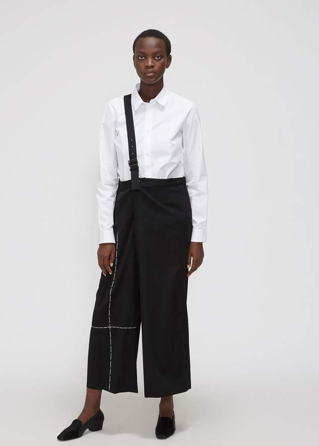 Yohji Yamamoto Y's by One Shoulder Wide Pant