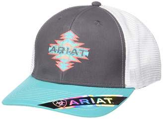Ariat Women's Aztec Name Mesh Snap Back Cap