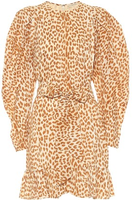Ulla Johnson Rosario cheetah-print minidress
