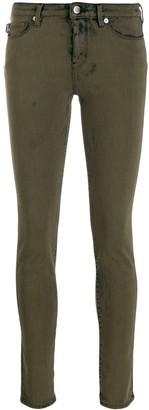 Love Moschino coated skinny jeans