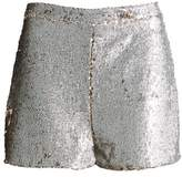 Missguided High Waist Sequin Shorts