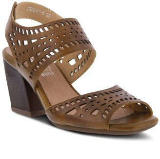 Spring Step Lartiste By Womens L'Artiste By Zemora Ankle Strap Sandals