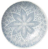 Vietri Lace Pasta Bowl - Gray