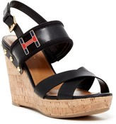 Tommy Hilfiger Movie Platform Wedge Sandal
