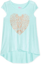 Epic Threads Heart-Print T-Shirt, Big Girls (7-16), Created for Macy's