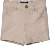 Andy & Evan Beige Twill Shorts
