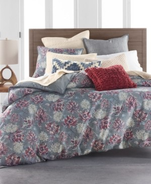 Lucky Brand Closeout! Hayden Cotton 3-Pc. King Duvet Cover Set, Created for Macy's Bedding