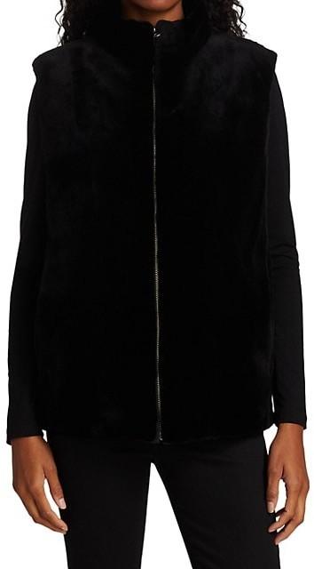 Thumbnail for your product : The Fur Salon Sheared Mink Fur Vest