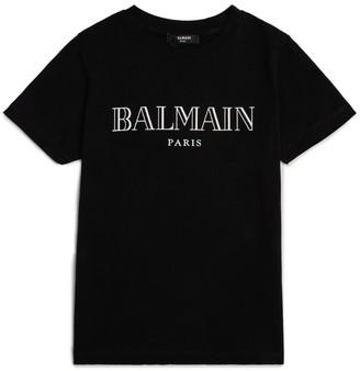 Balmain Kids Logo T-Shirt (8-16 Years)