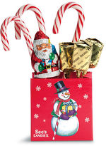 See'S Candies Christmas Candy Tote