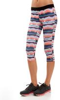 Soffe Water Color Capri Leggings