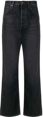 Acne Studios Bootcut Cropped Jeans