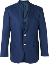 Canali two button blazer - men - Silk/Linen/Flax/Wool/Cupro - 50