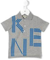 Kenzo logo letters polo shirt - kids - Cotton - 6 mth