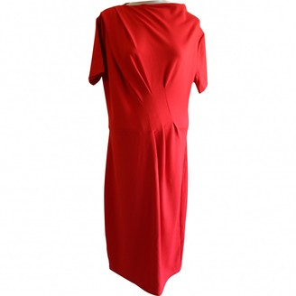 Jaeger Red Dress for Women
