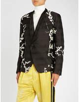 Haider Ackermann Leonotis jacquard jacket