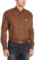 Cinch Men's Classic Fit Long Sleeve Button One Open Pocket Stripe