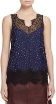 Whistles Martha Lace Trim Cami - 100% Bloomingdale's Exclusive