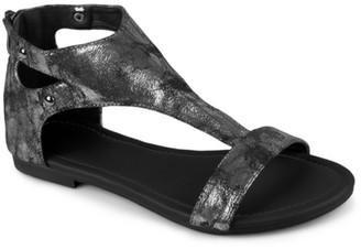 Journee Collection Bevin Flat Sandal