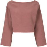 H Beauty&Youth wide neck jumper