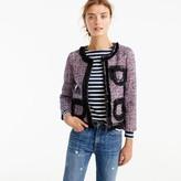 J.Crew Tweed lady jacket with sparkly trim