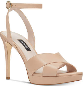 Nine West Quisha Platform Sandals Women Shoes