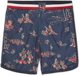 Moncler Mid-Length Printed Swim Shorts