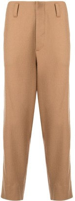 Ports V Cropped Stripe Detail Trousers