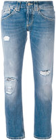 Dondup distressed boyfriend jeans