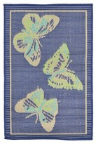 Liora Manné Playa Butterfly Cool Rug