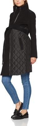 Mama Licious Mamalicious Women's Mlnewgiggi Tikka Mix Jacket Maternity Coat