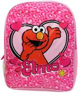 Sesame Street Sesame Street's Elmo Heart Graphic Colored Kid's Size Backpack (16in)