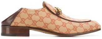 Gucci GG canvas Horsebit loafers