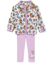 Nannette Nickelodeon's Paw Patrol 2-Pc. Fleece Jacket & Leggings Set, Little Girls (2-6X)