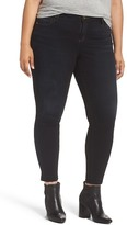 KUT from the Kloth Release Hem Skinny Ankle Jeans (Provocative) (Plus Size)