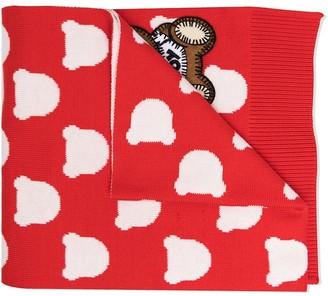 MOSCHINO BAMBINO Teddy Bear scarf