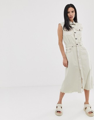 Cheap Monday Jinx denim shirt dress
