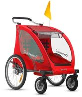 Joovy CocoonX2 Double Stroller in Red