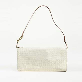 Burberry Nova Check Tweed Shoulder Bag