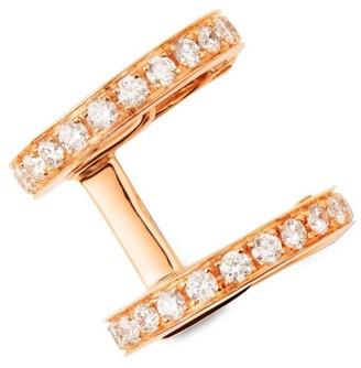 Repossi Berbere 18K Rose Gold & Diamond Ear Cuff