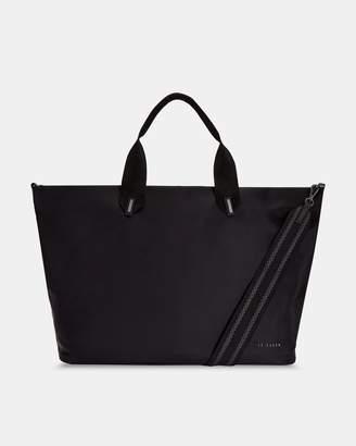 Ted Baker MABELE Large plain nylon tote bag