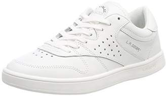 L.A. Gear Women's Lily Trainers, White (Wht-Soft Verginia Leather 03)