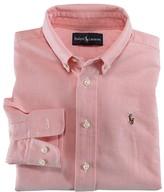 Ralph Lauren Boys' Solid Oxford Shirt - Sizes 2T-7
