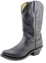"Durango 11"" Western Women Pointed Toe Leather Black Western Boot."