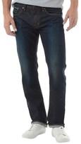 Edwin Mens Sen Japan Red Selvage Skinny Jeans Dark Used