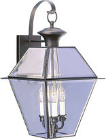 Livex Westover 3- Light Glass Sconce