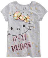 Hello Kitty Birthday T-Shirt, Little Girls (4-6X)
