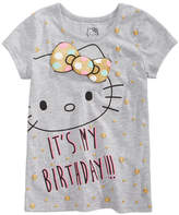 Hello Kitty Birthday T-Shirt, Toddler Girls